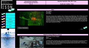 IFSDN Program screen