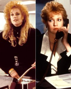 Mike Nichols' Working Girl (1988) is centered on Tess McGill, played