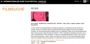Peter Hamburg screen times