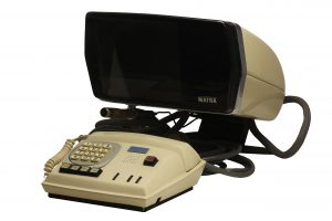 A videophone, yesterday